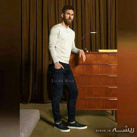 وقتی بهترین فوتبالیست دنیا وارد دنیای مدلینگ میشود + عکس