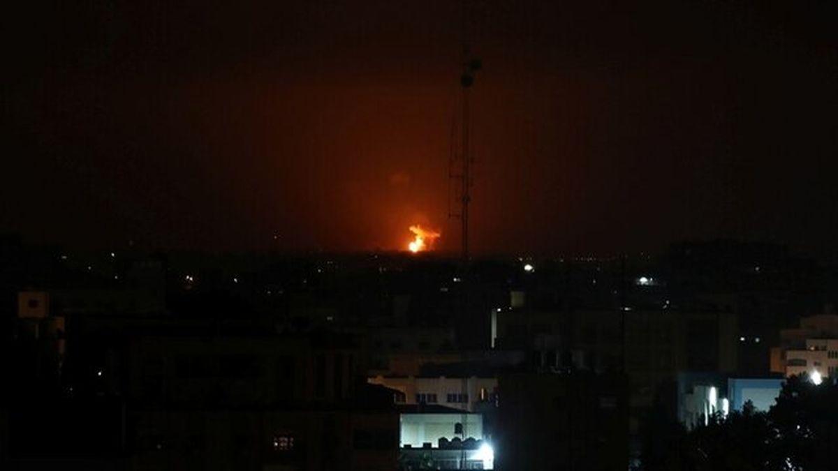 حمله رژیم صهیونیستی به نوار غزه/از تلفات اطلاعی در دست نیست