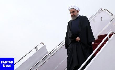 رئیس جمهوری وارد استان بوشهر شد