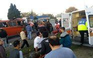 21 مصدوم حاصل 2 حادثه رانندگی در مازندران (+عکس)