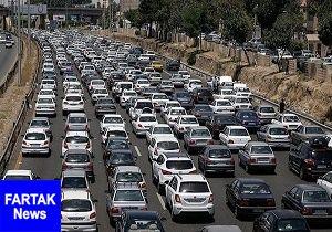 آخرین وضعیت ترافیکی  امروز ۲۲ مردادماه