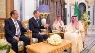دیدار فرستاده ترزا می با پادشاه عربستان