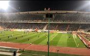سقف VIP استادیوم آزادی چکه می کند!