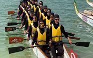 نماینده بانوان ایران در مسابقات دراگون بوت ابوظبی اول شد