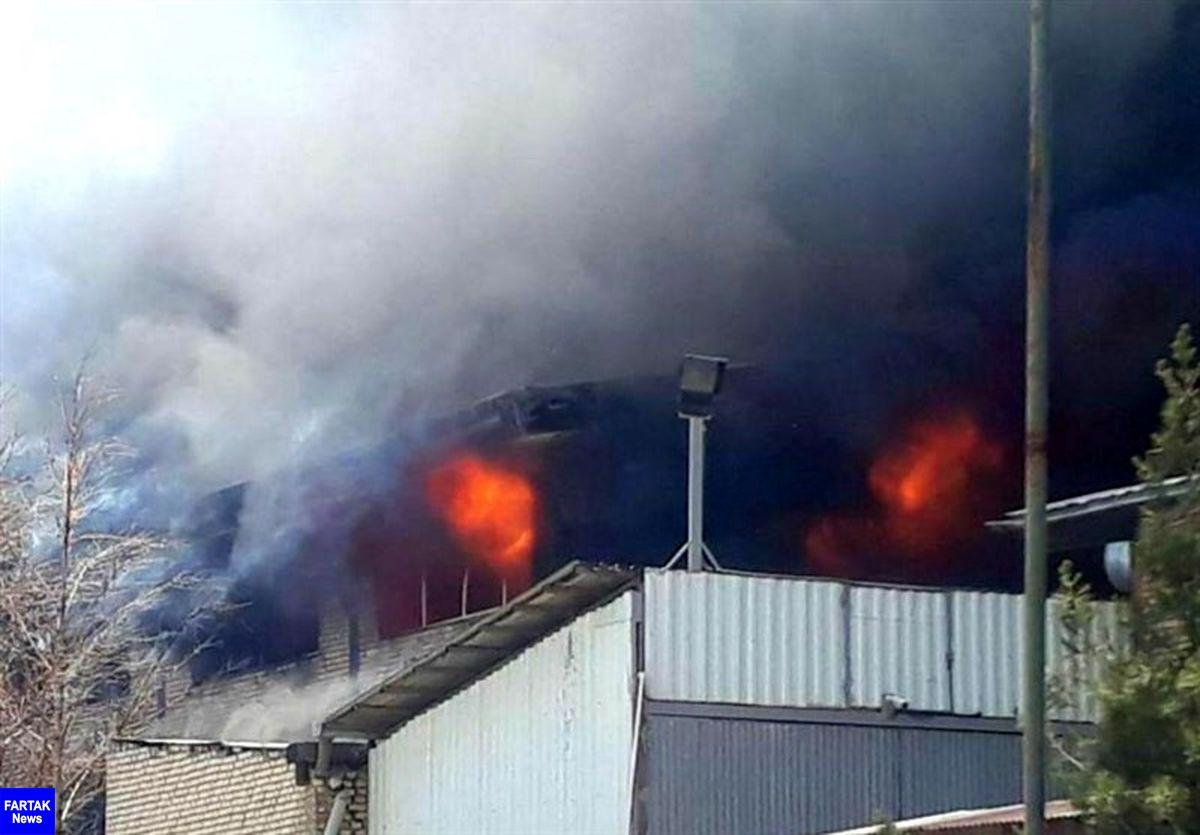فوت دو نگهبان در انفجار یک کارخانه بازیافت لاستیک