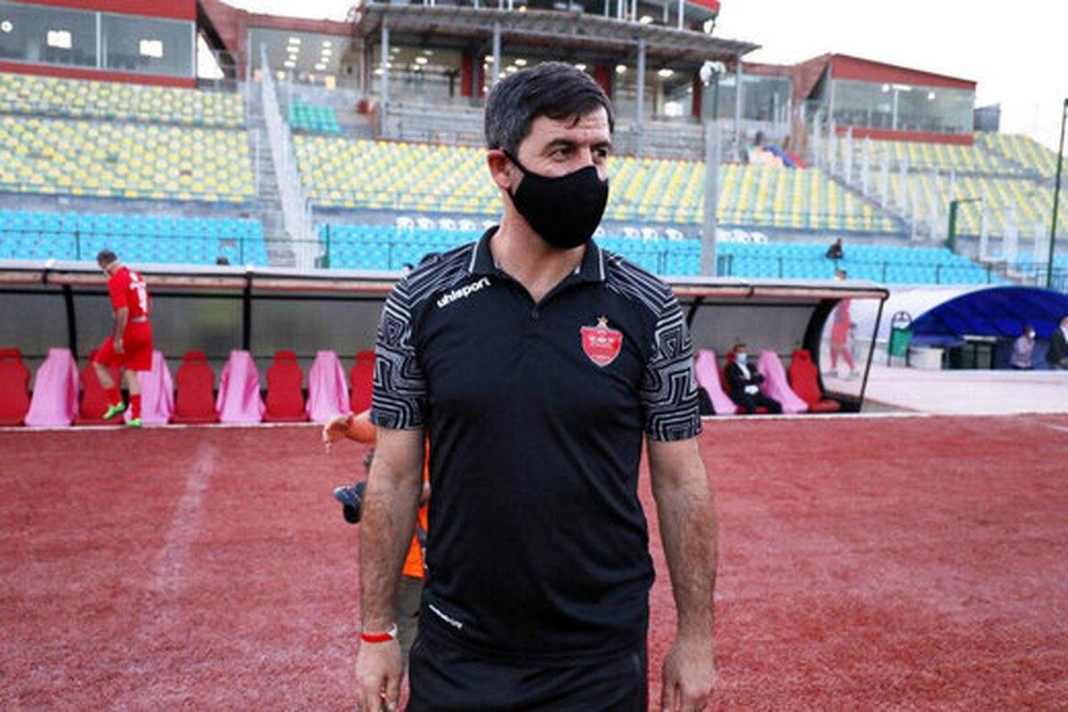 کریم باقری و مهدی پاشازاده در کنار لوتار ماتئوس