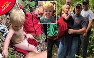 نجات باورنکردنی کودک خردسال در یک منطقه جنگلی!
