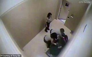 رفتار وحشیانه پلیس با نظامی سابق زن در بازداشتگاه! +فیلم