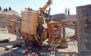 مرگ دلخراش راننده لودر در حومه مشهد