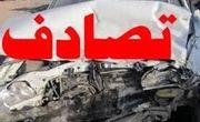 تصادف شدید خودروی بانک خون آذربایجان شرقی