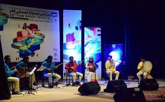 اولین شب اجرا دو گروه ماد و دلاهنگ از همدان در جشنواره موسیقی فجر به روایت تصویر