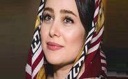 ظاهر الناز حبیبی به عنوان مدل میکاپ