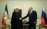 روسای جمهوری ایران و روسیه دیدار کردند
