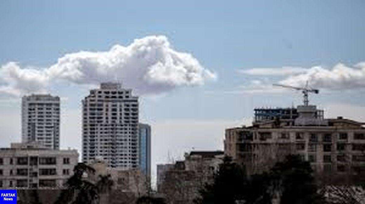 کیفیت هوای تهران در شرایط پاک است