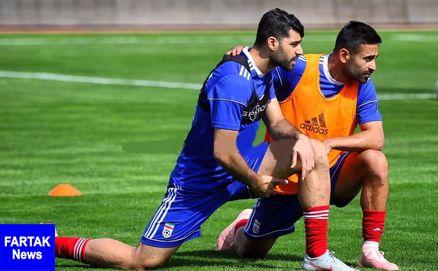 عکس ؛ استوک های عجیب امید ابراهیمی در تمرین تیم ملی
